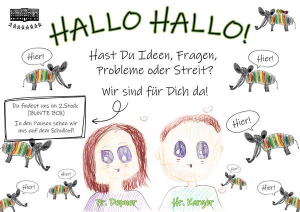 Frau Depner und Herr Karger